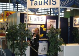 TauRIS exhibition stand